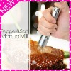 Stainless steel manual pepper mill, pepper grinder