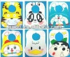 KIDS doraemon A bib 2012 BABY cheap FEEDING BIBS EATING TOP 6 desings