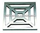 stainless steel casting floor drain