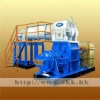 Clay brick making-Double vacuum extruder