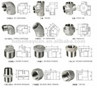 stainless steel investment casting fittings.