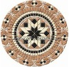 Chinese marble mosaic medallion,art mosaic
