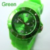 2012 new fashion New Coming Jelly Watch With Calendar +13 Colors Available +Full Packing Gift Watch With Logo