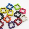 Fashion howlite color colorful flower beads for jewelry bracelets making