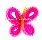 Cute Crochet Butterfly Applique (KCC-HCF00207)