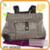 fashion printed canvas bags for diaper