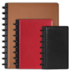 full-grain Leather Foldover Notebook