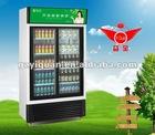 beverage cooler showcase