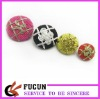 fashion fabric covered button