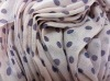 printed rayon polyester fabric for scarf