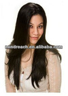 "Wholesale hot selling 20""silky straight wave Indian remy hair full lace wig ,accept escrow&paypal"