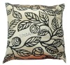 100%polyester flock fabric cushion cover