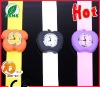 very fashion apple silicone slap band watch for kids