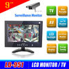 9 inch portable lcd vehicle monitor for car/bus/vehicle/taxi