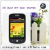 Fashion 3.5 inch Android dual card dual standby smart Android phone