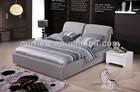 luxury velvet double bed for five-star hotel bedroom