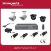 4 Cameras H.264 Compression Standalone Network Kit CCTV Network System