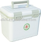6L white Thermal coolers for medicine, drinks without power