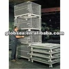 GS Stackable & Foldable wire mesh basket