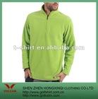 100% polyester fleece green winter casual sport wear