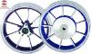 diam. aluminum wheel
