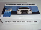 Mercedes benz high power DRL LED daytime running light improve safety