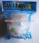 DNJ-practical loofah with sponge pad inside