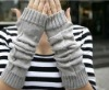 new fashion design wool half fingers ladies gloves