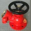 flange landing valve