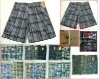 Shorts Stocks A9208D Plaid Mens Shorts In Stocklots