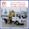 ISUZU 4*2 Truck with crane 1000-3000kg Folding crane arm