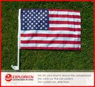 USA Auto flag/car window clip flag/ AD/promotion car flag