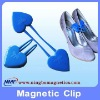 Holding magnetic clips