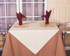 100% poly table cloth