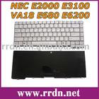 For E2000 E3100 White US Laptop Keyboard