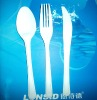5.4g Heavy Duty long handle Disposable PS Fork