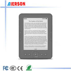6inch Linux system E-ink Ebook reader