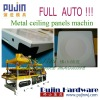 new Automatic metal ceiling tile machine (pujin)