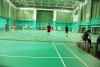 Badminton sports floor for professional match
