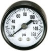 High pressure oil aseismatic gauge
