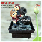 dwarf fountain for home decoration BK-B11307,indoor fountain,battery fountain