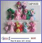 "9 Pcs Baby Infant Girl Costume Boutique 3.5"" Hair Bows Clip"