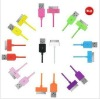 high quality color cable for iphone accept paypal