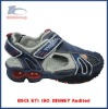 elastic sport sandals for child tpr outsole with light
