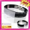 2012 Custom OEM Fashion Black Healthy Plastic Silicon Balance Bracelet