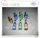 Beer bottle shape opener with flash light
