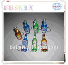 Beer bottle shape opener with flash light