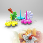 2013 new design plastic fruit fork