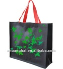 solid printed non-woven shopping bag