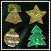 christmas decoration sequinus applique